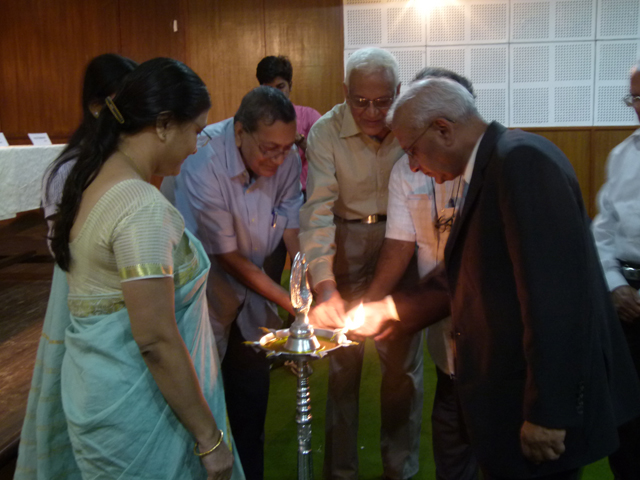 Lamp Lighting by the Chief Guest