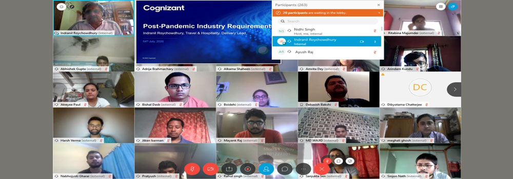 Cognizant Session on Post COVID - Expectation of Industry from Freshers - 04-07-2020